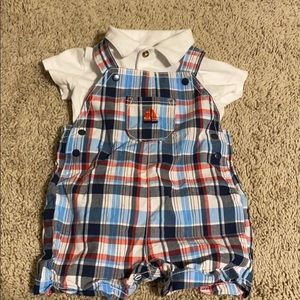 Carter's overall set baby boy 9m